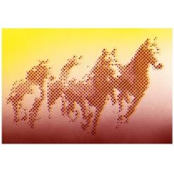 horses dots