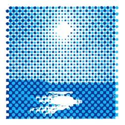 utsikt fra saltholmen blue detail